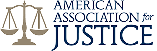 Logo Recognizing Northern Plains Justice, LLP's affiliation with American Association for Justice