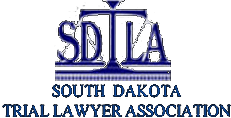 Logo Recognizing Northern Plains Justice, LLP's affiliation with South Dakota Trial Lawyer Association